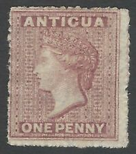 Antigua 1863 1p dull rose mint no gum SG 6 £120.00