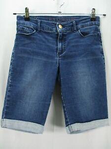 Juicy Couture Women's Size 28 Blue Denim Jean Shorts Pockets 28x10.5 NO TAG