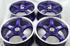 17 purple Wheels Rims Nitro MKZ TSX Milan Caravan Stratus Probe XB 5x100 5x114.3