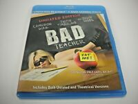 BAD TEACHER BLU RAY DVD (GENTLY PREOWNED)