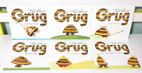 Lot of 6x Brand New Grug Children's Picture Books by Ted Prior!