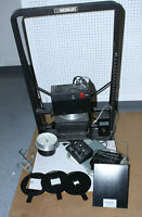 BESELER 45MXT PHOTOGRAPHIC DARKROOM ENLARGER WITH ACCESSORIES