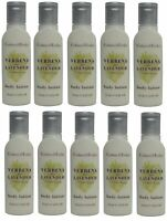 Crabtree & Evelyn Verbena & Lavender Body Lotion Lot of 10 ea 0.8oz Bottles.