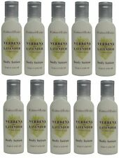Crabtree & Evelyn Verbena & Lavender Body Lotion Lot of 10 ea 0.8oz Bottles.