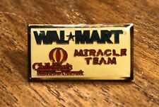 Wal Mart Miracle Team Associate Lapel Hat Pin Pinback ~ Employee