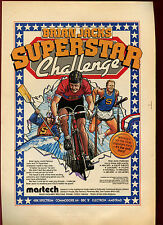 Brian Jacks Superstar Challenge, Martech, Spectrum, 1985 Magazine Advert #17866