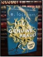 Genuine Fraud ✎SIGNED✎ by E. LOCKHART New Hardback 1st Edition First Printing