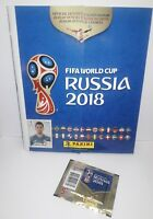 Fifa World Cup Russia 2018 Panini Sticker Book Official and 5 Pack of Stickers