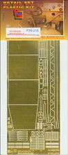 Photoetched metal parts for BRUMMBAR (Mid prod) schurzen (1/35) - p35215, parte
