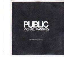 (FT250) Michael Manning, Public - 2005 DJ CD
