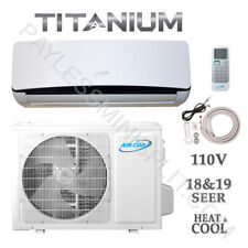 12,000 BTU 18 SEER Ductless Mini Split AirCon Conditioner Heat Pump 115V 1 Ton
