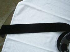 Velvet Ribbon - Samtband, schwarz 36 mm