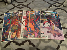 Magnificent Ms. Marvel Complete #1-6+ Annual Full Set First Print F