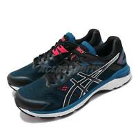 Asics GT-2000 7 4E Extra Wide Blue Black White Men Running Shoes 1011A161-003