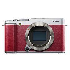 Near Mint! Fujifilm X-A1 16.3MP Digital Camera Body Red - 1 year warranty