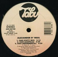 ALEXANDER O'NEAL Fake TABU US 12-inch NM *