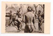 AFRIQUE scenes types ethnies missions Ethnics OUBANGUI-CHARI femmes au tam - tam