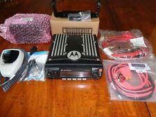 Motorola XTL2500 VHF P25 w/ new accessories