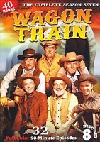Wagon Train Season 7 Dvd 32 Episodes 8 Set New Complete Dvds 2012 Second John