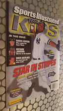 SPORTS ILLUSTRATED FOR KIDS  MAGAZINE 2001 DEREK JETER RARE BRITNEY SPEARS CARD!