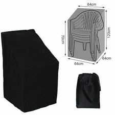 Waterproof Stacking Chair Cover Outdoor Garden Patio Furniture Chairs Cover New