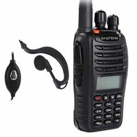 BAOFENG UV-B5 Dual Band 136-174/400-520Mhz FM Ham Radio + UV-5R Earpiece US