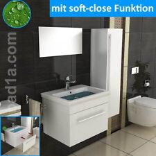 Keramikwaschbecken mit Unterschrank Waschtisch Handwaschbecken mit Lotus Effekt