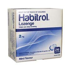 Habitrol Nicotine Lozenge 2mg Mint Flavor 2 boxes 432 Pieces Sugar Free FRESH