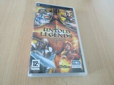 UNTOLD LEGENDS : Brotherhood of the Blade  -  Sony PSP Game