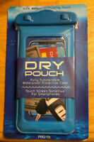 Pro Fit Waterproof Floating Phone Case Dry Pouch Bag for iPhone Galaxy Blue NEW