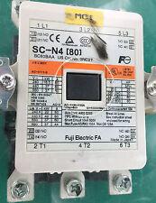 USED Fuji Electric SC-N4 [80] Motor Starter Contactor 440 V 80 A w/SZ-N4J screen