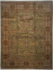 "Authentic  Wool 8' 1"" x 10' 3"" India Sultanabad Rug RNR-9513"