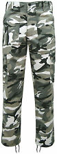 MENS ARMY MILITARY COMBAT TROUSERS CAMO CAMOUFLAGE WORK  CARGO PANTS