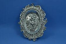 Hanau silver Pin dish Crowned G mark Wolf & Knoll ? WM import mark 1898 London