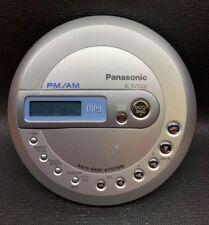WORKING! Panasonic SL-SV553J Personal Portable CD / MP3 Player - AM / FM Radio