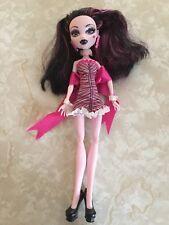 "Monster High 11"" Doll DAWN OF THE DANCE DRACULAURA VAMPIRE DRACULA RARE"