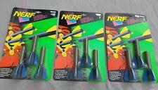 3x NERF Nachfüllpack für Pocket Rocket - Mini Blaster Arrow Pack Kenner Vintage