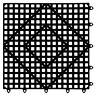 Versa-Mat - Interlocking Bar Matting, Black