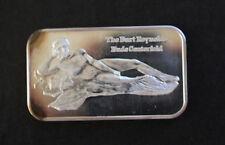 1973 Burt Reynolds Centerfold Arlington Coin Galleries Silver Art Bar P0739