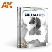 AK Interactive METALLICS VOL 2 (AK LEARNING SERIES No 5) New