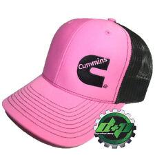 Dodge Cummins trucker hat ball mesh richardson summer pink ladies girl snap back