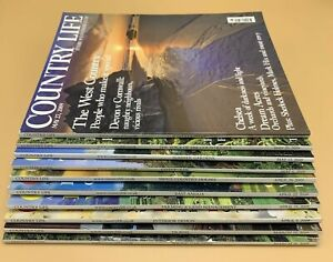 Job Lot of Country Life Magazine x 10 Issues from 2009 (Mar-May)