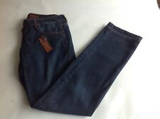 Energie Jeans Women's Nabie Jean Size 3 Dark Blue Extremely Low Flare