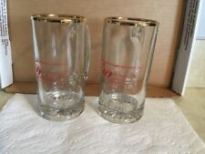 Oldenberg Brewery, 1991 American Brew Assn Set Of 2 Beer Mugs, Ft. Mitchell, KY