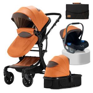 STURDY Pram Travel System 3 in 1 Combi Stroller Buggy Baby Child Pushchair