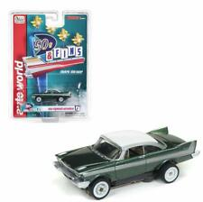 Auto World SC334-3G 1958 Plymouth Belvedere Clam Shell HO Scale Elect. Slot Car