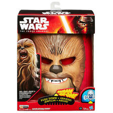 Star Wars Chewbacca Electronic Mask B3226a Hasbro Force Awakens Rogue One R1