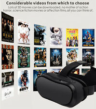 3D All-in-one Bluetooth Wifi Android 360 Virtual Reality VR Glasses Headset New