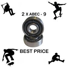 2 Abec 9 608 2S Wheel bearings Skateboard scooter Quad inline Roller skate 7 11