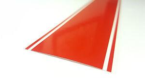 "10.5"" x 72"" Vinyl Racing Stripe Pinstripe Decals Stickers *18 COLORS* Stripes"